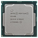 Процессор Intel Pentium Gold G5400 Soc-1151v2 (3.7GHz/Intel UHD Graphics 610) OEM