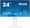 "Монитор Iiyama 23.8"" ProLite XUB2492HSU-W1 белый IPS LED 5ms 16:9 HDMI M M матовая HAS Pivot 1000:1 250cd 178гр 178гр 1920x1080 D-Sub DisplayPort FHD USB 5.4кг"