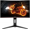 "Монитор 24"" AOC C24G1 Black-Red (VA, LED, изогнутый, 1920x1080, 144Hz, 1 ms, 178° 178°, 250 cd m, 80M:1, +HDMI 1.4, +DisplayPort 1.2, +регулировка по высоте)"