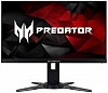 "Монитор Acer 25"" Predator XB252Qbmiprzx черный TN LED 1ms 16:9 HDMI M M 3D полуматовая HAS Pivot 100000000:1 400cd 1920x1080 DisplayPort FHD 6.31кг"