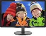 "Монитор 19.5"" PHILIPS 206V6QSB6/62(10) Black (IPS, LED, Wide, 1440x900, 14 ms, 178°/178°, 250 cd/m, 10M:1)"