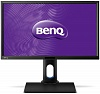"Монитор Benq 23.8"" BL2420PT черный IPS LED 16:9 DVI HDMI M M матовая HAS Pivot 300cd 2560x1440 D-Sub DisplayPort QHD USB 7кг"