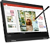 "Ноутбук Lenovo ThinkPad X13 Yoga G1 T Core i7 10510U 16Gb SSD1Tb Intel UHD Graphics 13.3"" Touch FHD (1920x1080) Windows 10 Professional 64 black WiFi BT Cam"