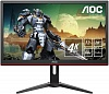 "МОНИТОР 28"" AOC G2868PQU Black (LED, 3840x2160, 1 ms, 170° 160°, 300 cd m, 50M:1, +HDMI 1.4, +HDMI 2.0, +DisplayPort 1.2"