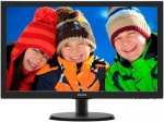 "Монитор 21.5"" PHILIPS 223V5LSB/10(62) Black (LED, LCD, Wide, 1920x1080, 5 ms, 170°/160°, 250 cd/m, 10M:1)"