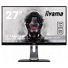 Монитор жидкокристаллический Iiyama LCD 27'' [16:9] 2560х1440 TN, nonGLARE, 350cd m2, H170° V160°, 1000:1, 12М:1, 16,7M Color, 1ms, DVI, HDMI, DP, USB-Hub, Height adj., Pivot, Tilt, HAS, Speakers, Swivel, 3Y, Black