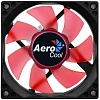Вентилятор Aerocool Motion 8 Red-3P 80x80x25mm 3-pin 27dB 90gr LED Ret