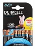 Батарея Duracell Ultra Power LR03-8BL AAA (8шт)