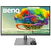 "Монитор Benq 27"" PD2720U темно-серый IPS LED 5ms 16:9 HDMI M M матовая HAS Pivot 350cd 3840x2160 DisplayPort Ultra HD USB 5кг"