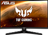 "Монитор ASUS 31.5"" TUF Gaming VG328H1B VA LED изогнутый, 1920x1080, 1ms, 250cd m2, 178° 178°, 3000:1, 165Hz, FreeSync, D-Sub, HDMI, MM, Tilt, Swivel, VESA, Black, 90LM0681-B01170"