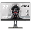 "Монитор Iiyama 27"" GB2730QSU-B1 черный TN+film LED 1ms 16:9 DVI HDMI M M матовая HAS Pivot 1000:1 350cd 170гр 160гр 2560x1440 DisplayPort QHD USB 7.2кг"