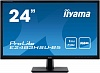 Монитор жидкокристаллический Iiyama Монитор LCD 24'' [16:9] 1920х1080(FHD) TN, nonGLARE, 250cd m2, 170° 160°, 1000:1, 80M:1, 16.7M, 1ms, VGA, HDMI, DP, USB-Hub, Tilt, Speakers, 3Y, Black