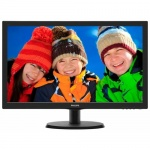 "Монитор Philips 21.5"" 223V5LSB (00/01) черный TN+film LED 5ms 16:9 DVI матовая 250cd 1920x1080 D-Sub FHD 2.61кг"
