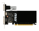 Видеокарта MSI PCI-E GT 710 1GD3H LP nVidia GeForce GT 710 1024Mb 64bit DDR3 954/1600 DVIx1/HDMIx1/CRTx1/HDCP Ret low profile