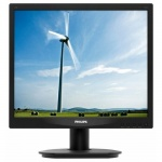 "Монитор Philips 17"" 17S4LSB (10/62) черный TN+film LED 5ms 5:4 матовая 250cd 1280x1024 D-Sub 3.54кг"