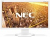 Монитор жидкокристаллический NEC LCD 23'' 16:9 1920х1080 TN, nonGLARE, 250cd m2, H170° V170°, 1000:1, 16,7M Color, 5ms, VGA, DVI, DP, Height adj., Pivot, Tilt, HAS, Speakers, Swivel, 3Y, White