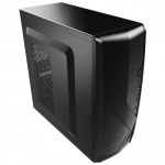 Корпус Aerocool CS-1102 черный без БП ATX 1x80mm 1x120mm 2xUSB2.0 1xUSB3.0 audio