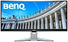 "Монитор BENQ 35"" EX3501R VA LED,  изогнутый 1800R, 3440х1440, 21:9, 12(4)ms, 300cd m2, 20M:1, 178° 178°,HDMI2.0*2  DP1.4  USB3.0*2  USB-Type C (3.1 Gen2, no Power Delivery Function) x 1)  Headphone jack, Tilt,"