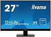 "Монитор Iiyama 27"" ProLite XU2792HSU-B1 черный IPS LED 4ms 16:9 HDMI M M матовая 1000:1 250cd 178гр 178гр 1920x1080 D-Sub DisplayPort FHD USB 5.1кг"