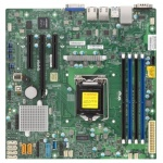 Материнская Плата SuperMicro MBD-X11SSL-F-O Soc-1151 iC232 mATX 4xDDR4 6xSATA3 SATA RAID i210AT 2хGgbEth Ret