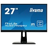 "Монитор Iiyama 27"" XUB2792QSU-B1 черный IPS LED 5ms 16:9 DVI HDMI M M матовая HAS Pivot 350cd 178гр 178гр 2560x1440 DisplayPort QHD USB 6.1кг"