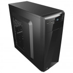 Корпус Aerocool CS-1101 черный без БП ATX 2x120mm 1x140mm 2xUSB2.0 1xUSB3.0 audio