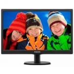 "Монитор Philips 19.5"" 203V5LSB26 (10/62) черный TN+film LED 5ms 16:9 матовая 200cd 1600x900 D-Sub 2.33кг"