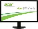 "Монитор ACER 19.5"" K202HQLAb (16:9)/TN+Film(LED)/1366x768/60Hz/5 (on/off)ms/200nits/600:1/VGA/Black Glossy"