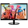 "Монитор Philips 24"" 246V5LSB (00 01) черный TN+film LED 5ms 16:9 DVI матовая 250cd 1920x1080 D-Sub FHD 4.65кг"