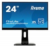 "Монитор Iiyama 23.8"" ProLite XUB2492HSU-B1 черный IPS LED 5ms 16:9 HDMI M M матовая HAS Pivot 250cd 178гр 178гр 1920x1080 D-Sub DisplayPort FHD USB 5.4кг"