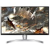 "Монитор LG 27"" 27UL650-W белый IPS LED 5ms 16:9 HDMI матовая HAS 1000:1 350cd 178гр 178гр 3840x2160 DisplayPort Ultra HD 9.0кг"
