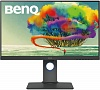 "Монитор Benq 27"" PD2700U черный IPS LED 16:9 HDMI M M матовая HAS Pivot 350cd 3840x2160 DisplayPort Ultra HD USB 5кг"