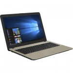 "Ноутбук Asus VivoBook A540BA-GQ185 A6 9225/4Gb/500Gb/AMD Radeon R4/15.6""/HD (1366x768)/Endless/black/WiFi/BT/Cam"