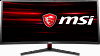 "Монитор MSI Optix MAG341CQ 34"" UWQHD(3440x1440(мотовый)) Curved IPS-level(VA) 100Hz 8ms HDMI(2.0) DP DVI 7.1kg black"